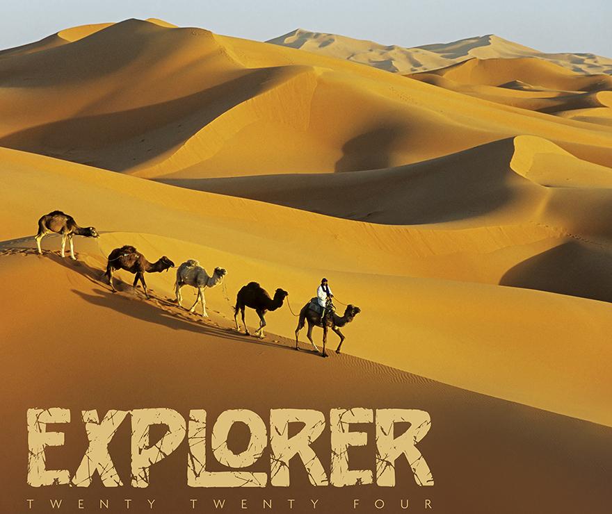 Explorer Landscape Calendar