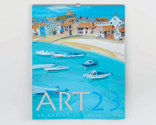 Fantastic art in a calendar