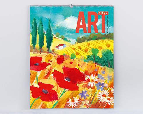 Fantastic art in a calendar